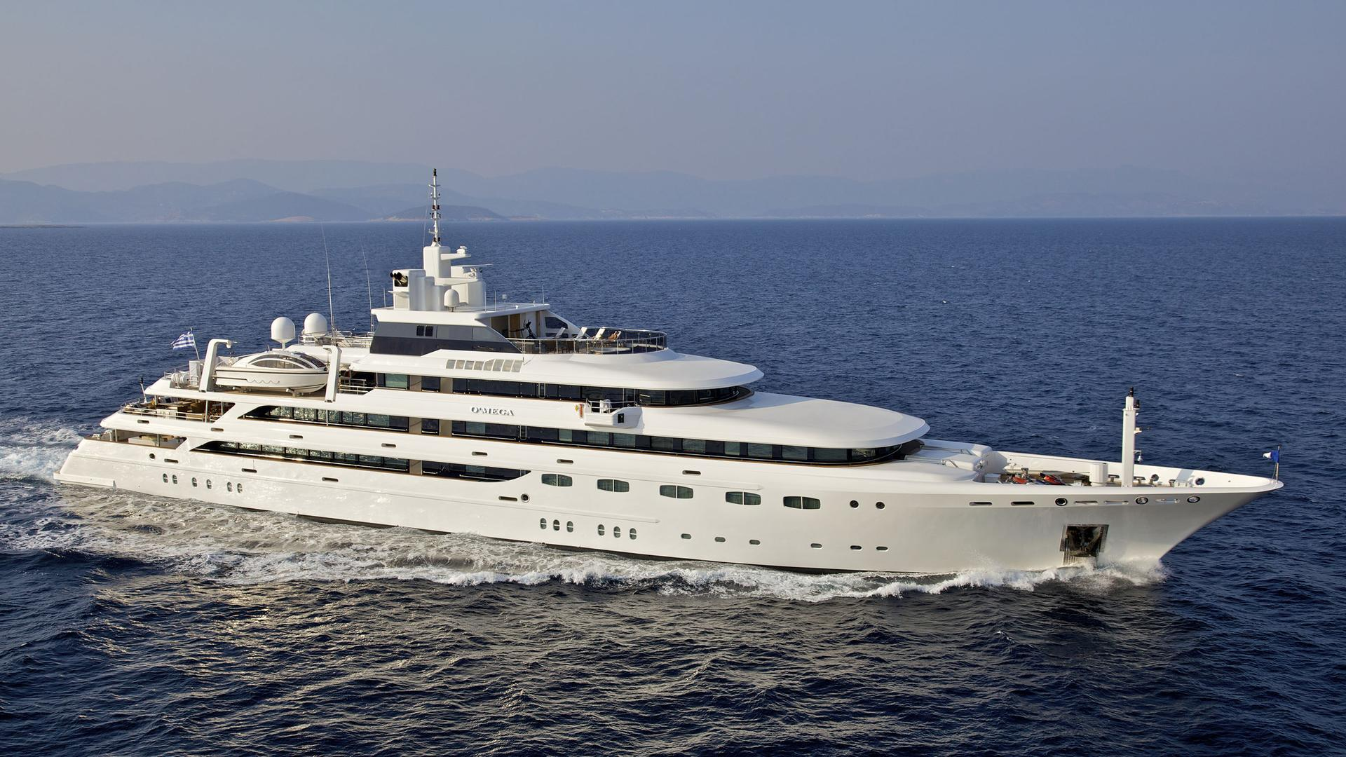 OMega Super Yacht (271 feet) • Luxury Motor Yachts ...
